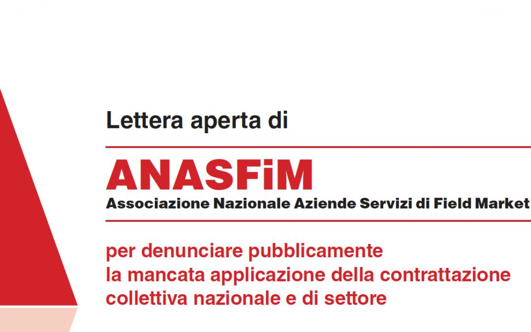 Lettera aperta di ANASFiM - denuncia dumping contrattuale